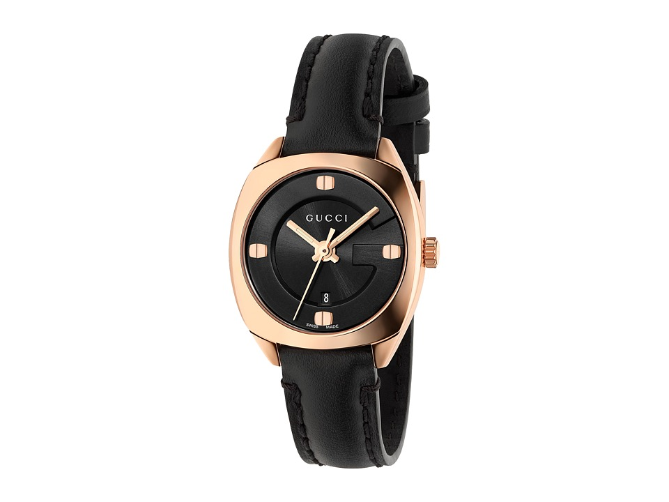 Gucci - GG2570 - YA142509 (Black/Black) Watches
