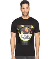 McQ - Graphic Floral Short Sleeve Crew T-Shirt