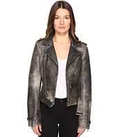 Just Cavalli - Leather Moto Hot Rod Jacket