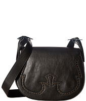 Just Cavalli - Cow Leather with Holes Shoulder Bag