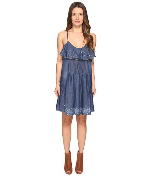 Just Cavalli Laser Cami Western Dress - Denim