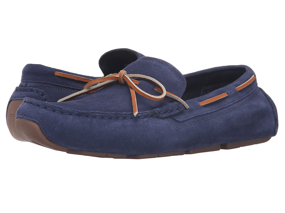 Cole Haan - Kelson Camp Moc (Blazer Blue Suede) Men