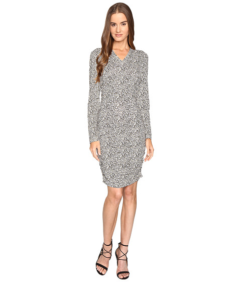 Just Cavalli Long Sleeve Baby Cat Printed Jersey Dress