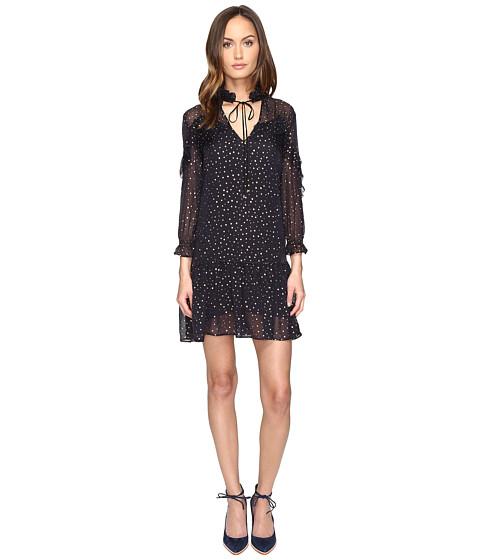 Just Cavalli 3/4 Sleeve Pois Print Dress