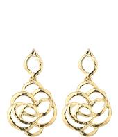 Oscar de la Renta - Intertwined Floral P Earrings