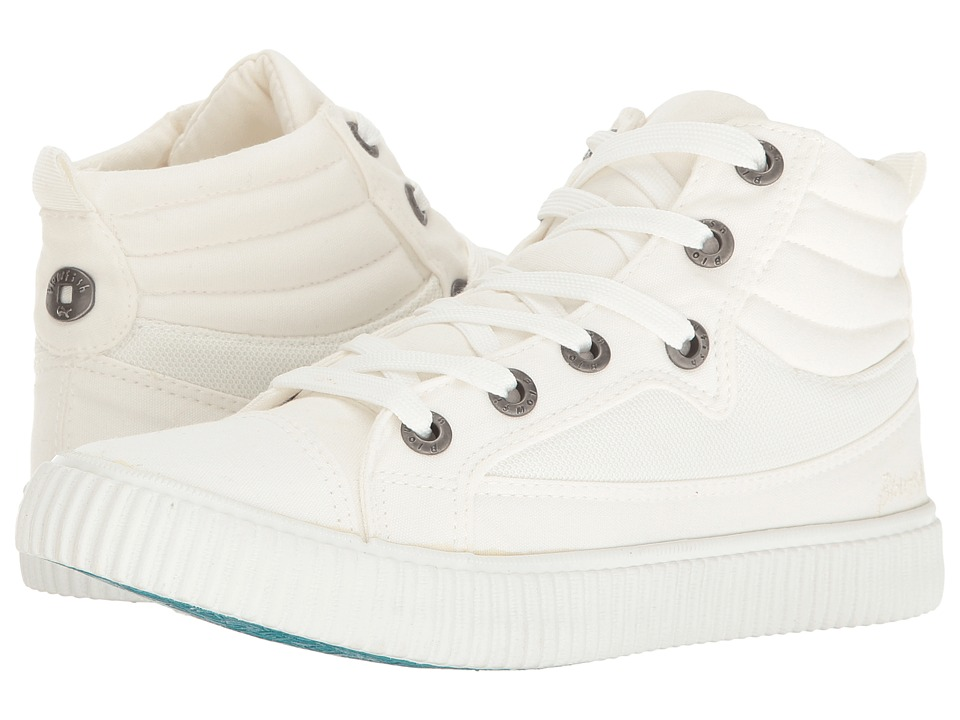 Blowfish Crawler (White Color Washed Canvas) Women