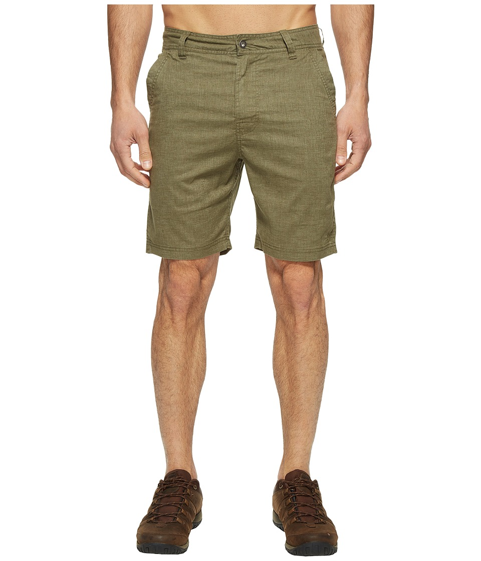 Prana Furrow Short (Cargo Green) Men