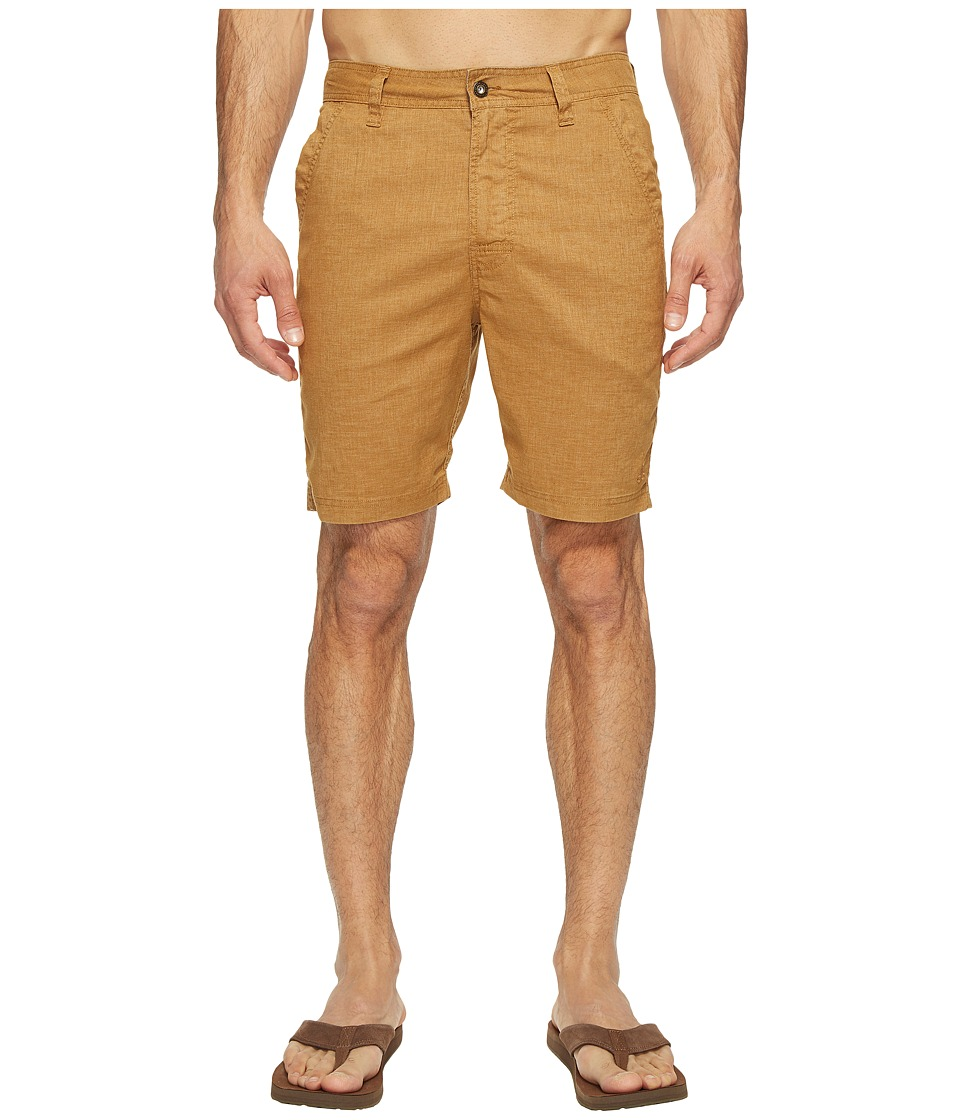 Prana Furrow Short (Dark Ginger) Men