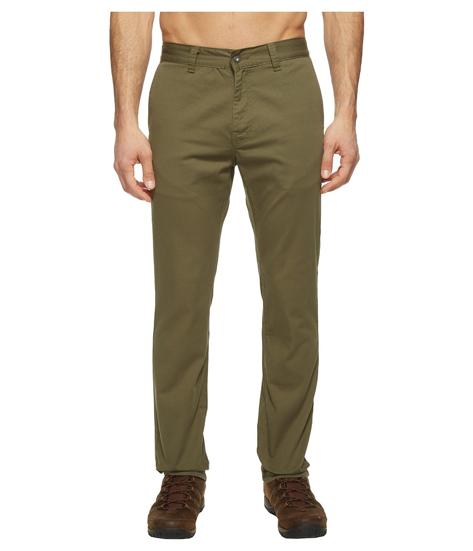 Prana Table Rock Chino Pants (Cargo Green) Men