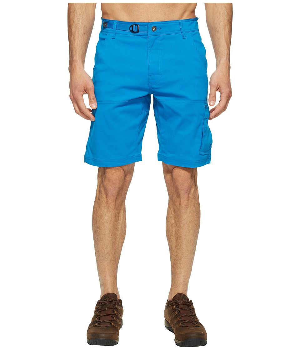 Prana Stretch Zion Short (Vortex Blue) Men