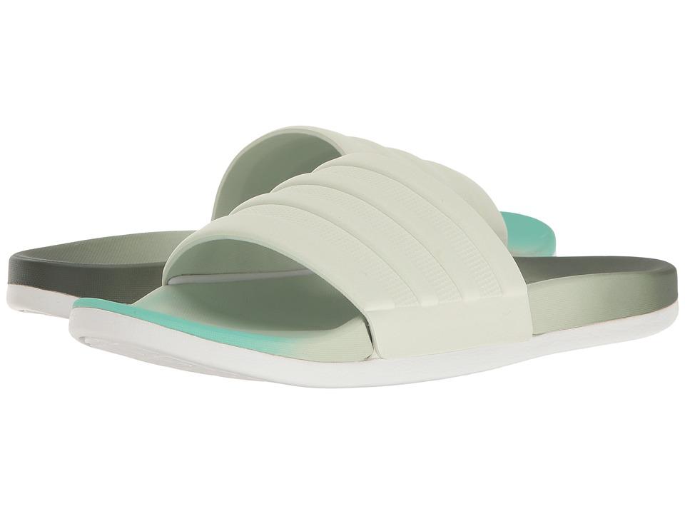 adidas Adilette Cloudfoam Ultra Fade (Utility Ivy/Linen Green/Easy Green) Women