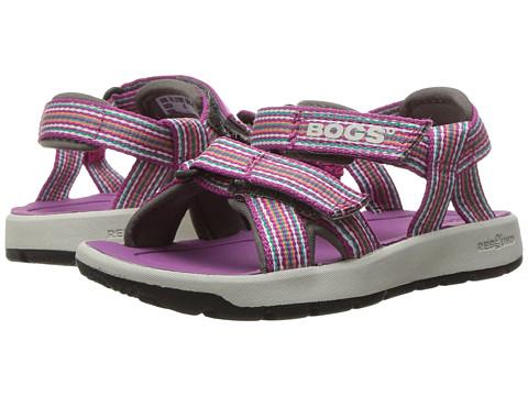 Bogs Kids Rio Stripes Sandal (Toddler/Little Kid/Big Kid) - Berry Multi