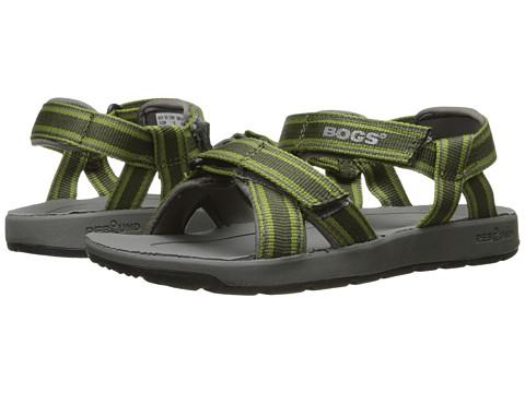 Bogs Kids Rio Stripes Sandal (Toddler/Little Kid/Big Kid) - Green Multi