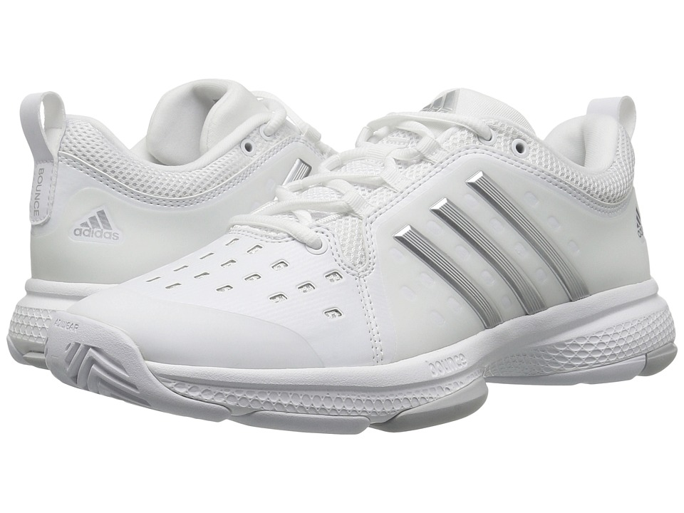 Adidas Barricade Classic Bounce (Footwear White/Silver Me...