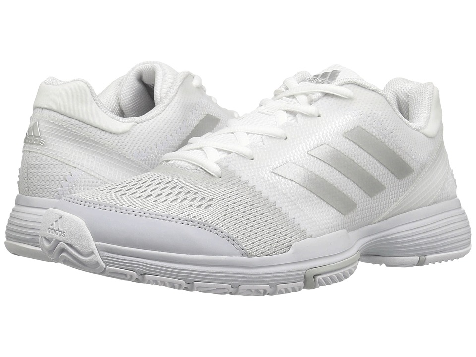 Adidas Barricade Club (Footwear White/Silver Metallic/Cor...