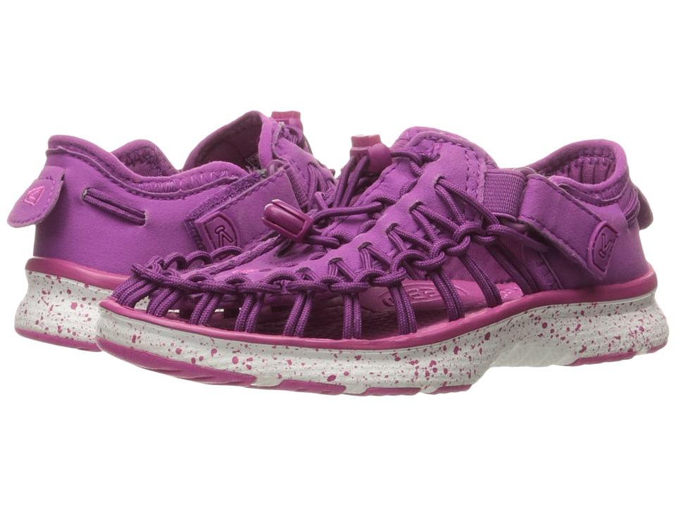 Keen Kids - Uneek O2 (Toddler/Little Kid) (Purple Wine/Verry Berry) Girls Shoes