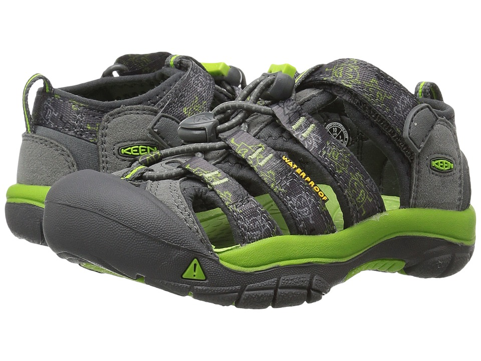Keen Kids Newport H2 ToddlerLittle Kid Gargoyle Monsters Boys Shoes