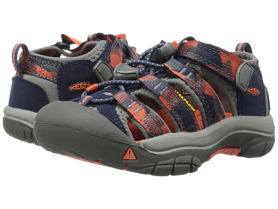 Keen Kids Newport H2 ToddlerLittle Kid Dress BluesKoi Boys Shoes