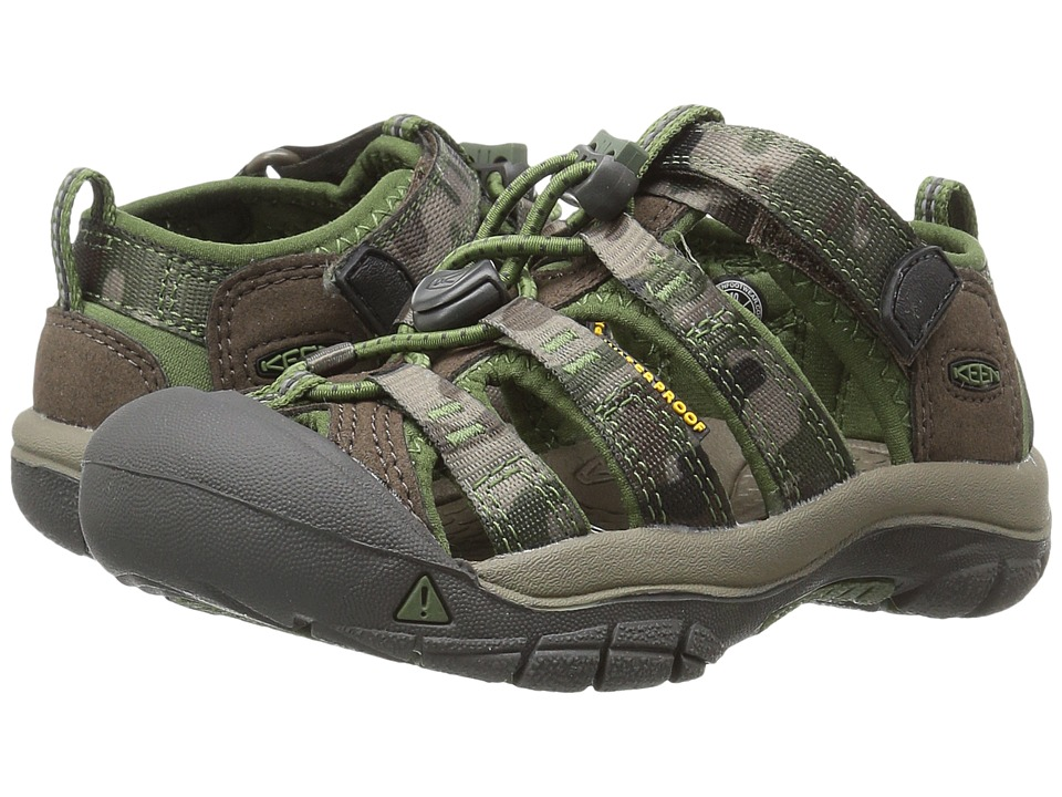 Keen Kids Newport H2 ToddlerLittle Kid Cascade BrownKamo Boys Shoes