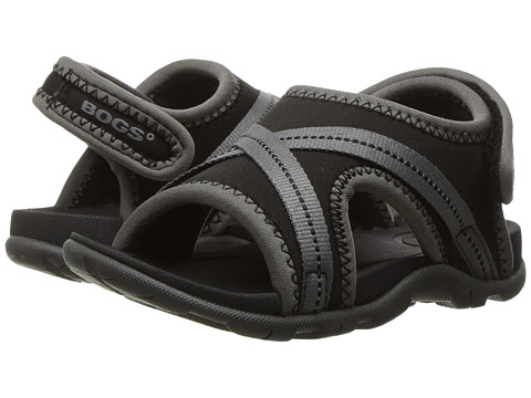 Bogs Kids Bluefish Sandal (Toddler) - Black Multi