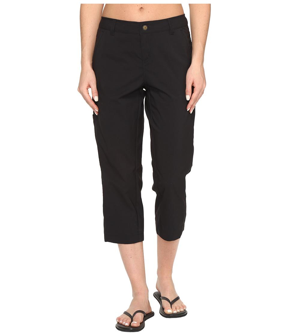 Royal Robbins Discovery Capri Pants (Jet Black) Women's C...