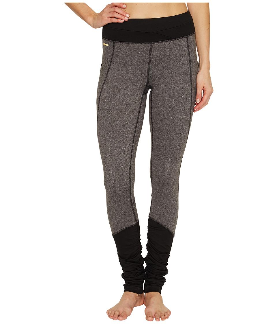 Lole Buda Leggings (Black Heather) Women's Casual Pants