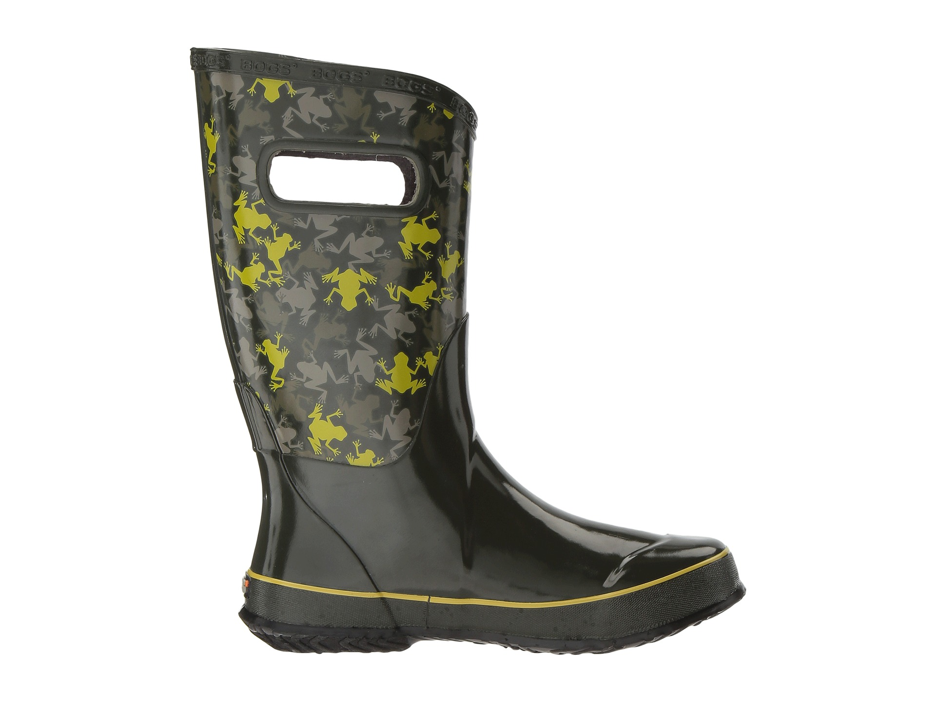 Bogs Kids Frogs Rain Boot (Toddler/Little Kid/Big Kid) - Zappos ...