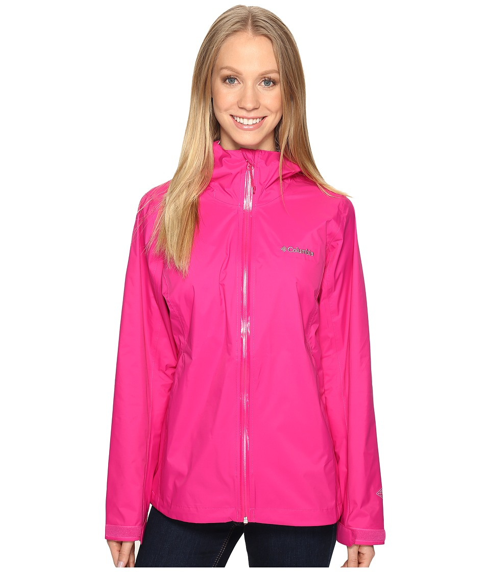 Columbia EvaPOURation Jacket (Haute Pink) Women