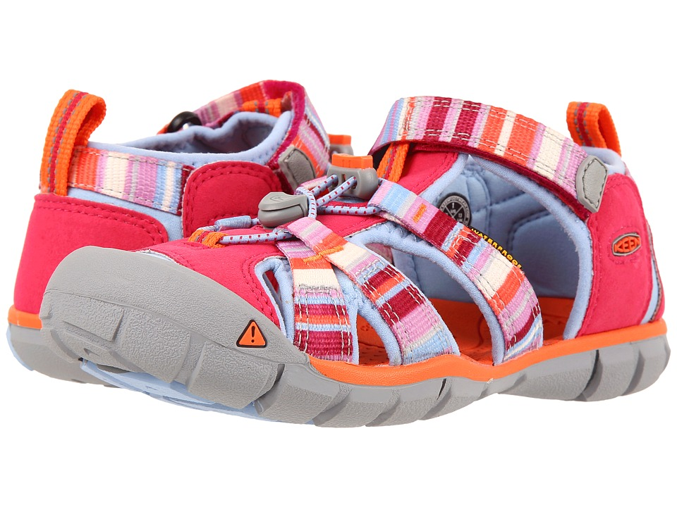 Keen Kids Seacamp II CNX (Little Kid/Big Kid) (Bright Rose Raya) Girls Shoes