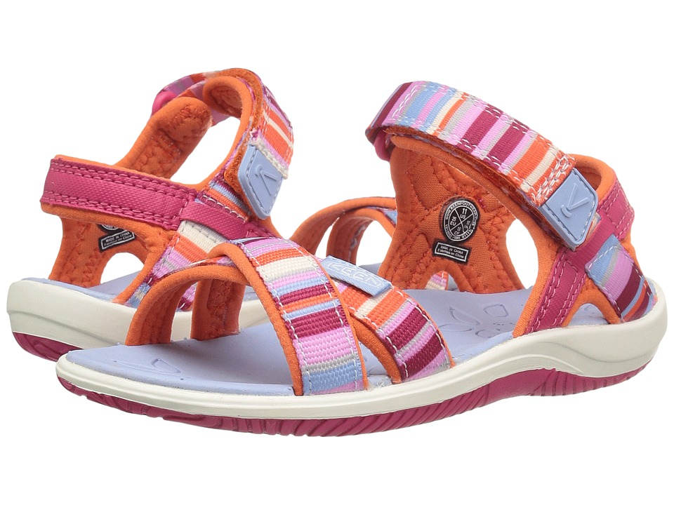 Keen Kids Phoebe (Toddler/Little Kid) (Bright Rose Raya) Girls Shoes