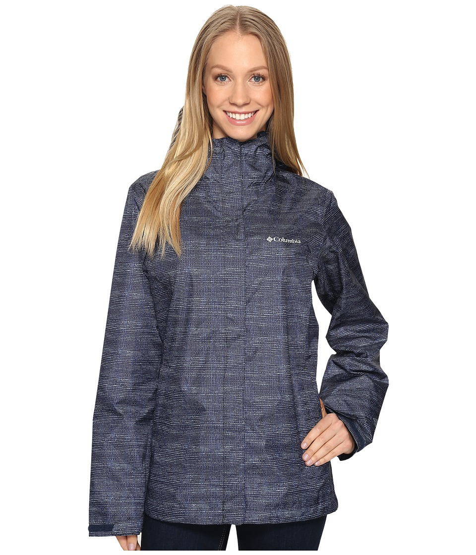 Columbia Arcadia Print Jacket (India Ink Dotty Dye) Women