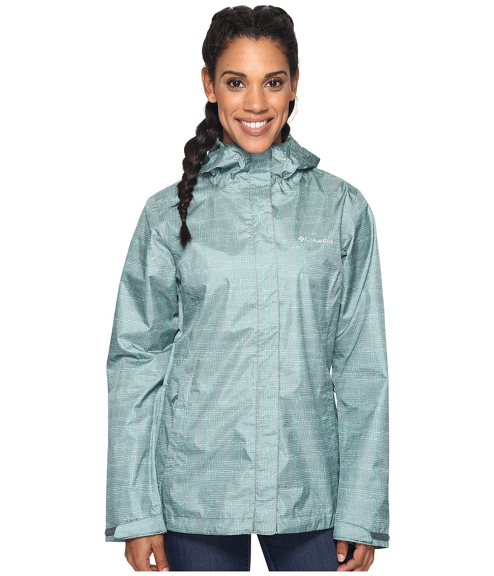 Columbia Arcadia Print Jacket (Pond Dotty Dye) Women