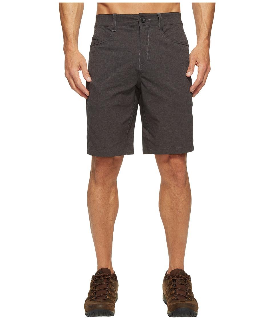 Royal Robbins Coast Shorts (Charcoal) Men
