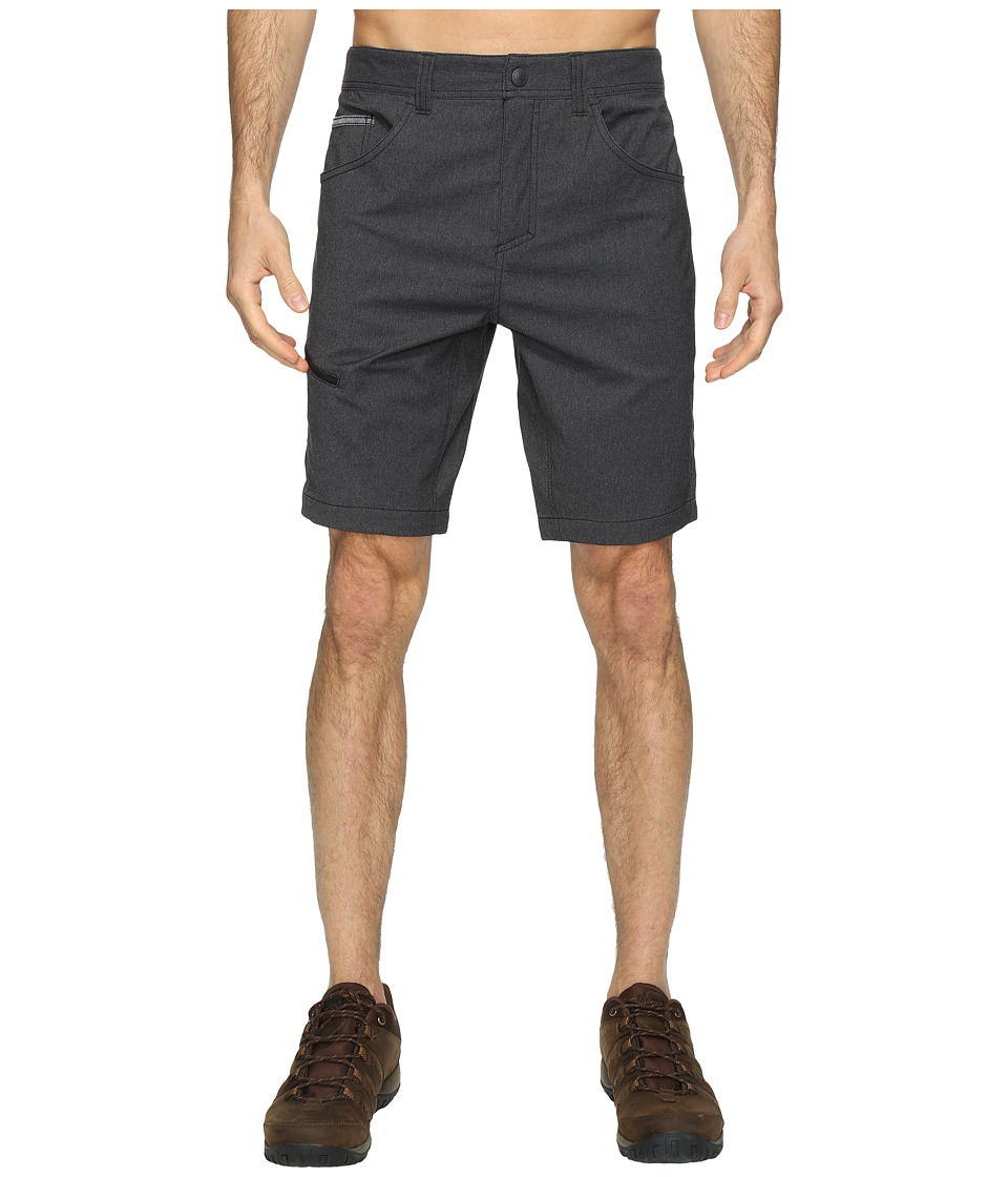 Royal Robbins Alpine Road Shorts (Charcoal) Men