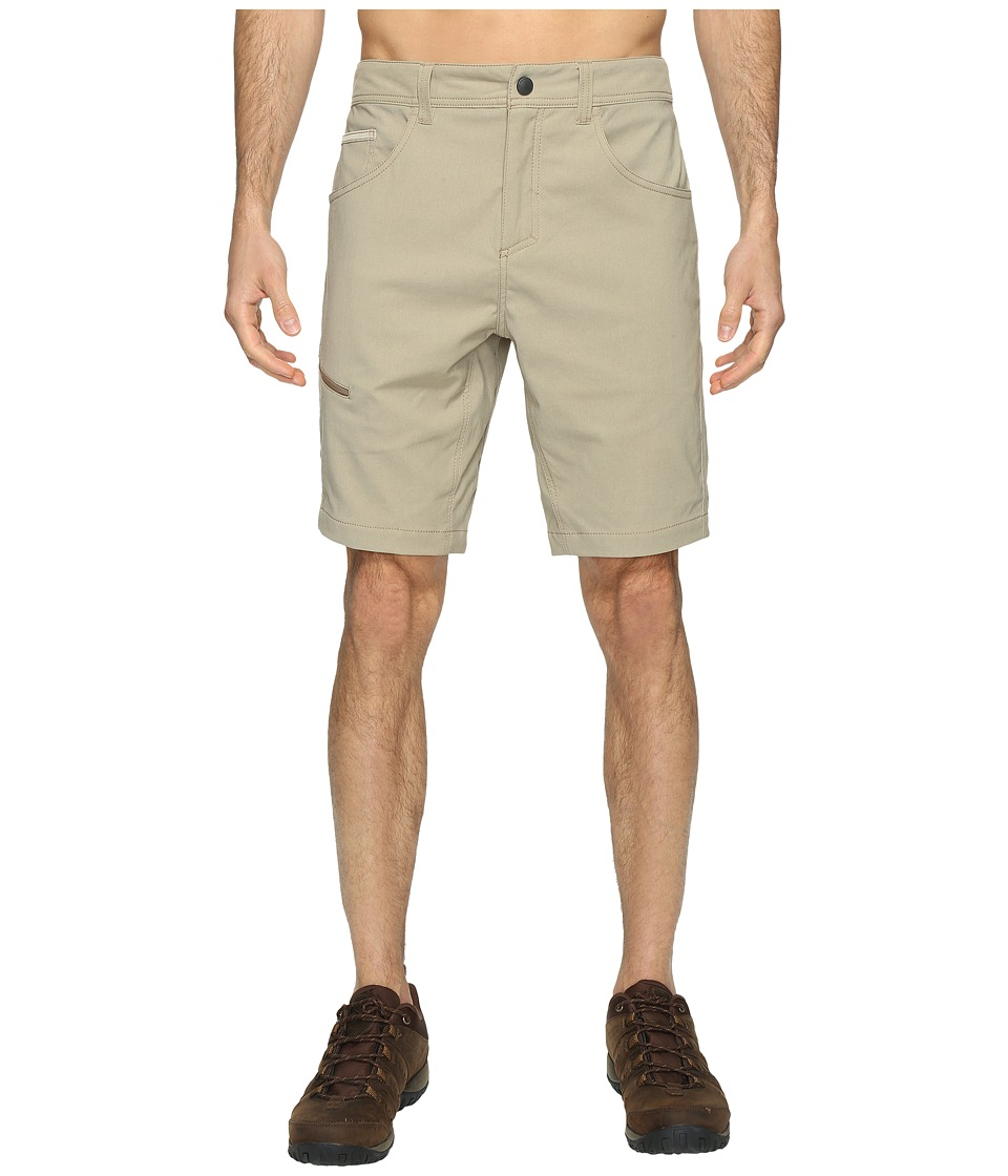 Royal Robbins Alpine Road Shorts (Khaki) Men