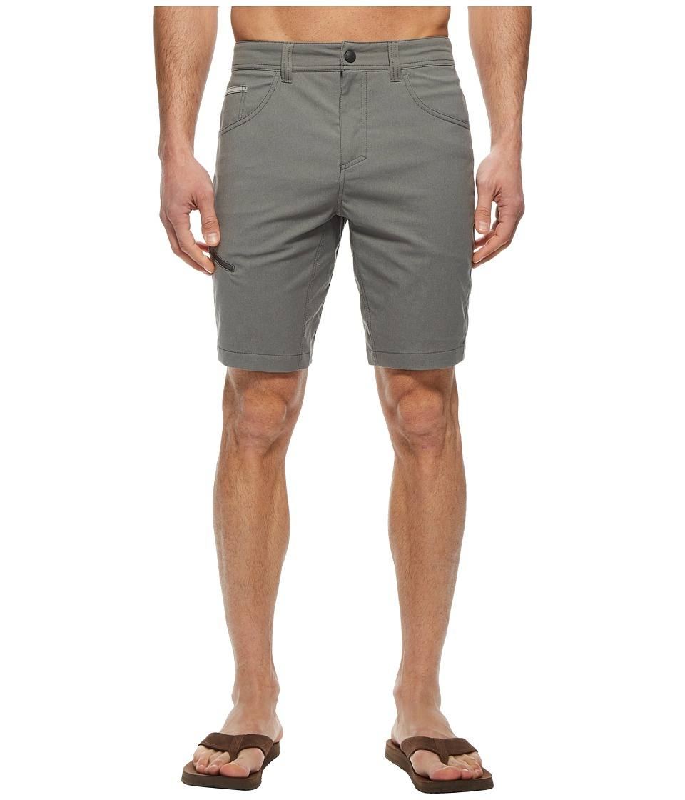 Royal Robbins Alpine Road Shorts (Pewter) Men