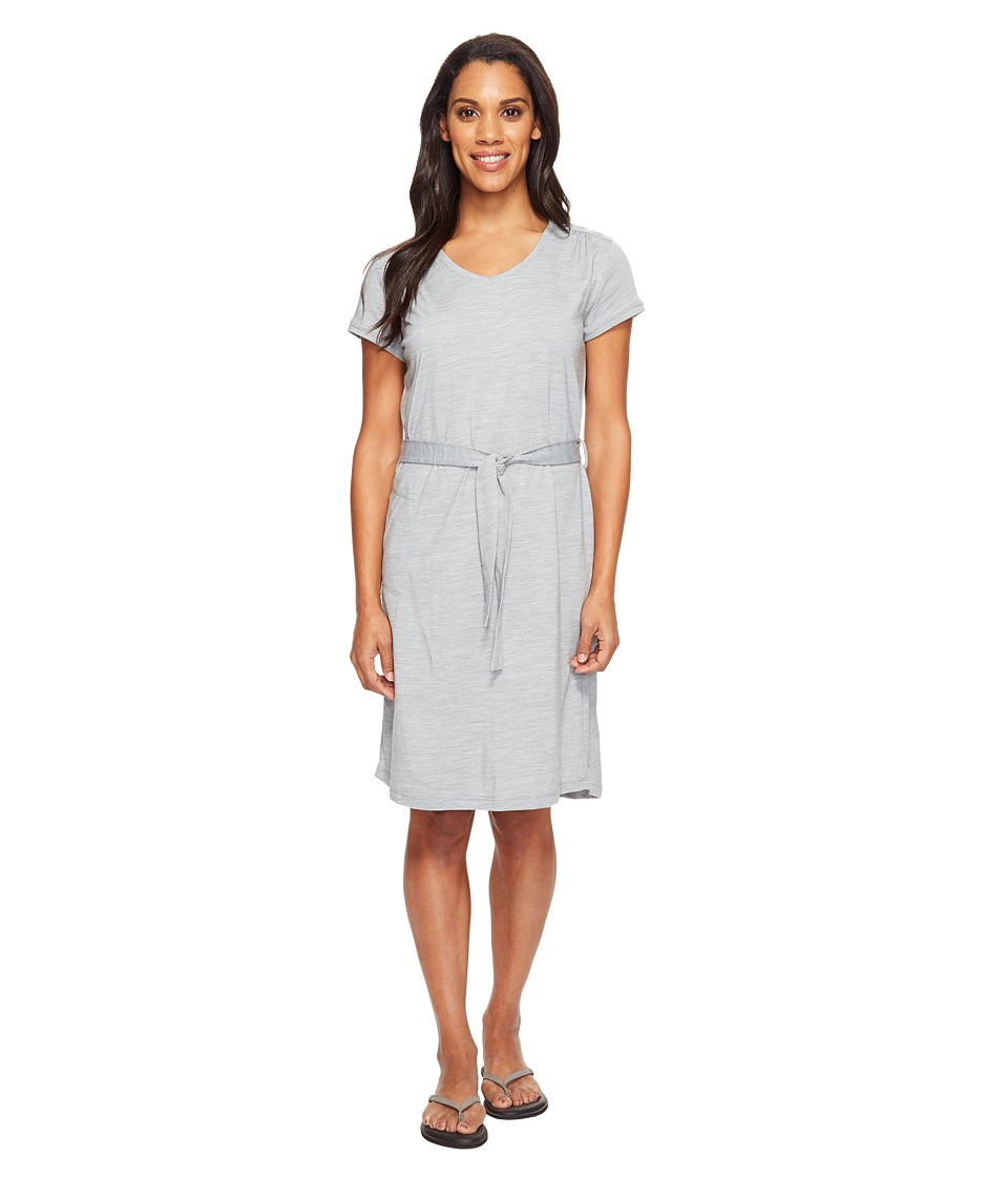 Royal Robbins Merinolux Dress (Light Pewter) Women