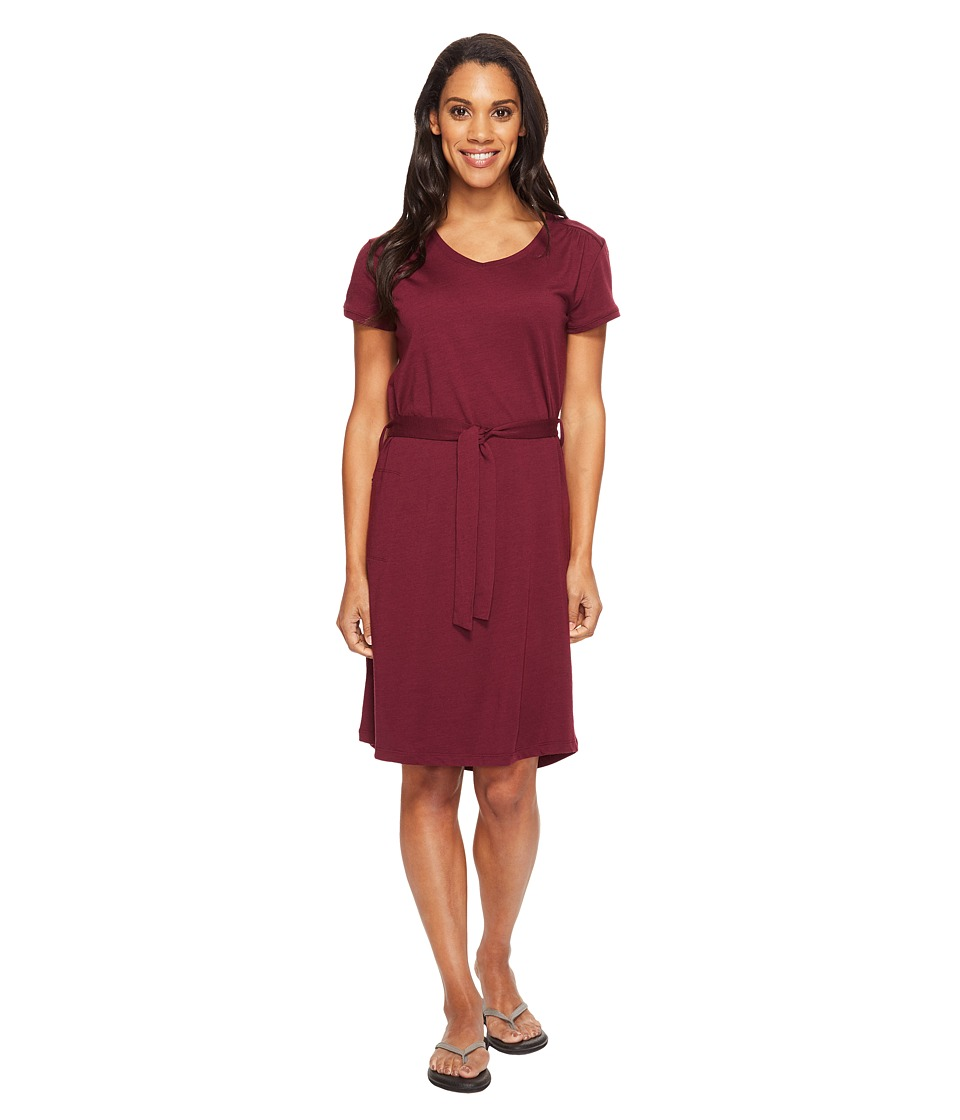 Royal Robbins Merinolux Dress (Plum Wine) Women