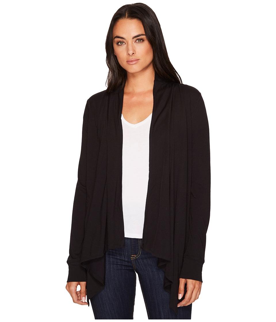 Royal Robbins Merinolux Sweater Wrap (Jet Black) Women