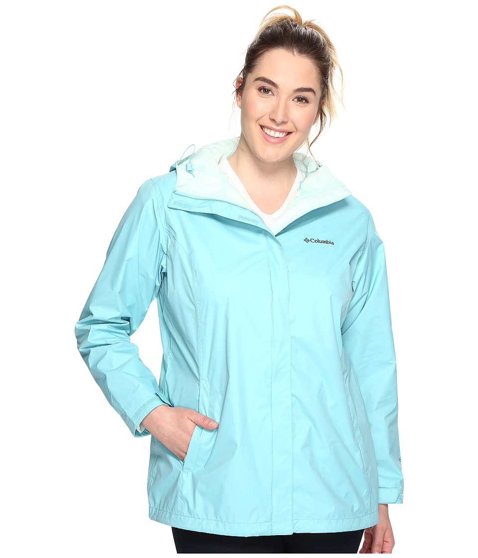 Columbia Plus Size Arcadia IItm Jacket (Iceberg) Women
