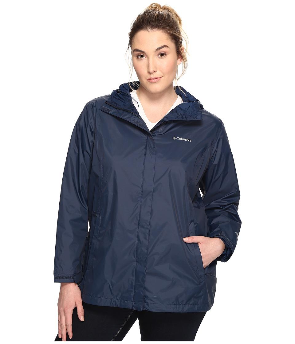 Columbia Plus Size Arcadia II Jacket (Columbia Navy) Women