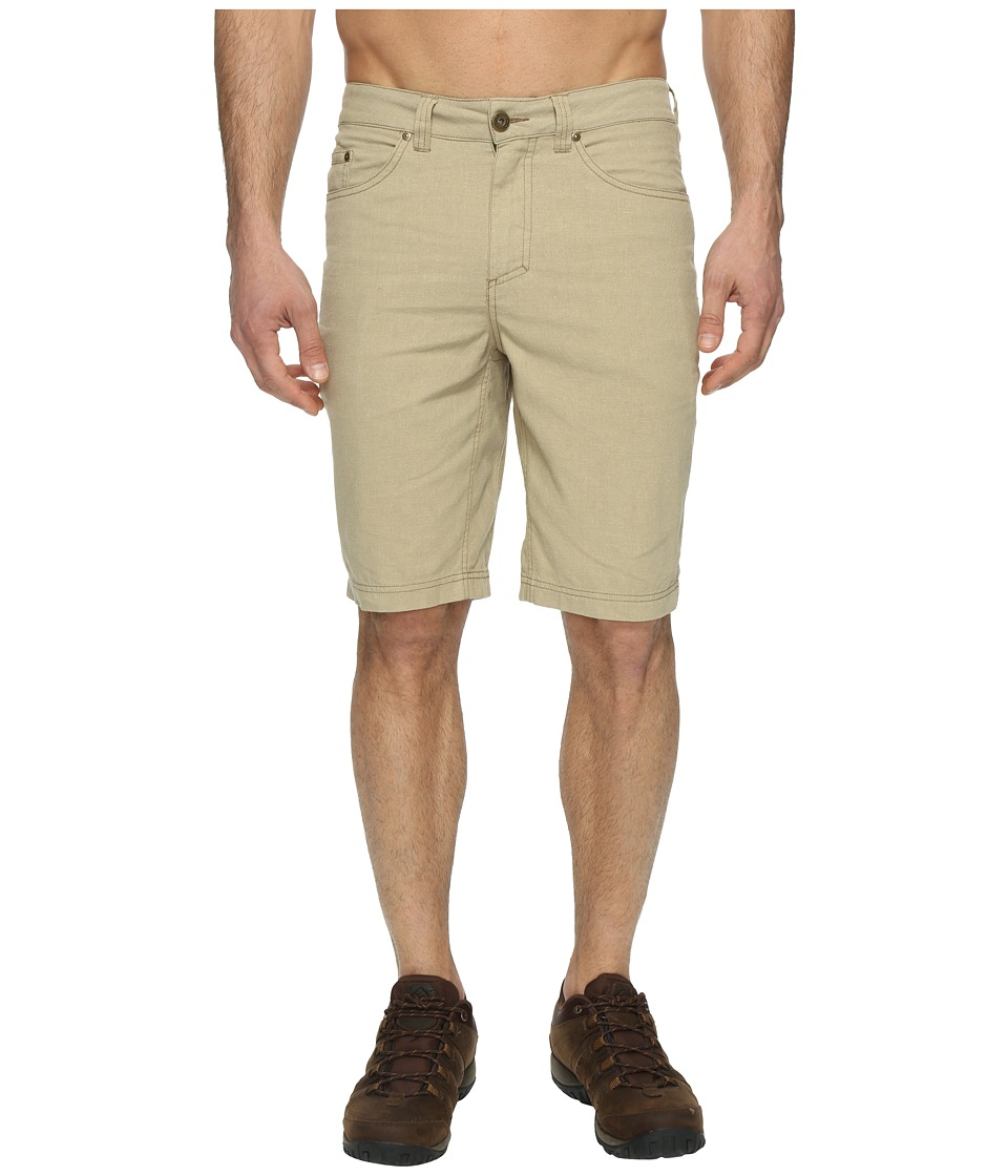 Royal Robbins Gulf Breeze Five-Pocket Shorts (Desert) Men