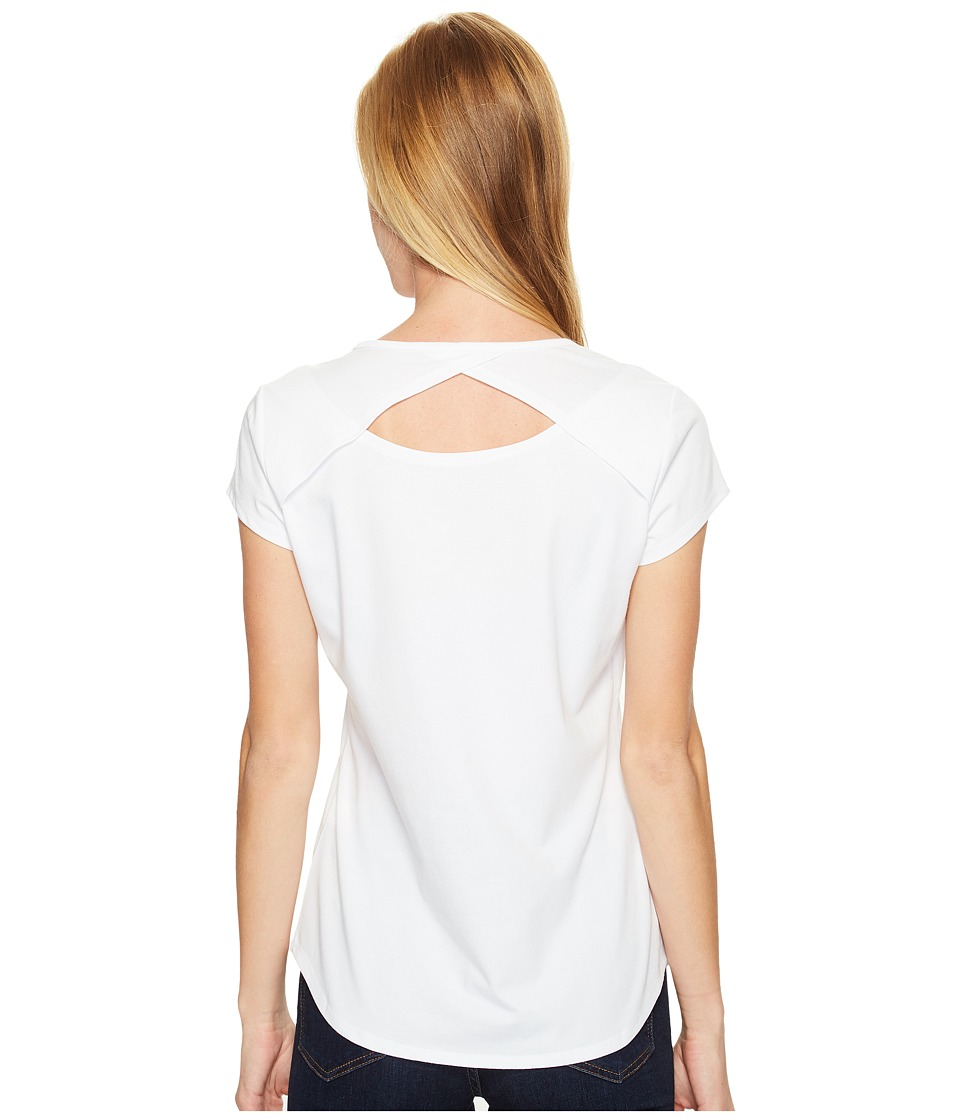 Royal Robbins Wick-ed Cool Short Sleeve Shirt (White) Women