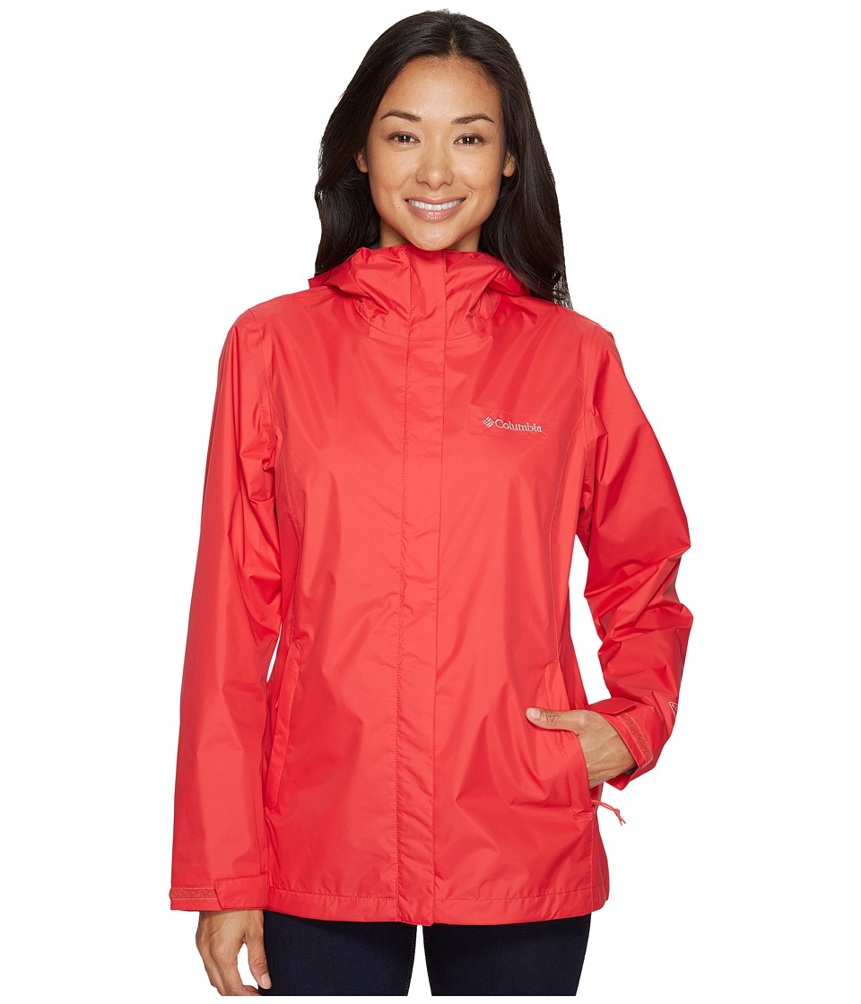 Columbia Arcadia IItm Jacket (Red Camellia) Women