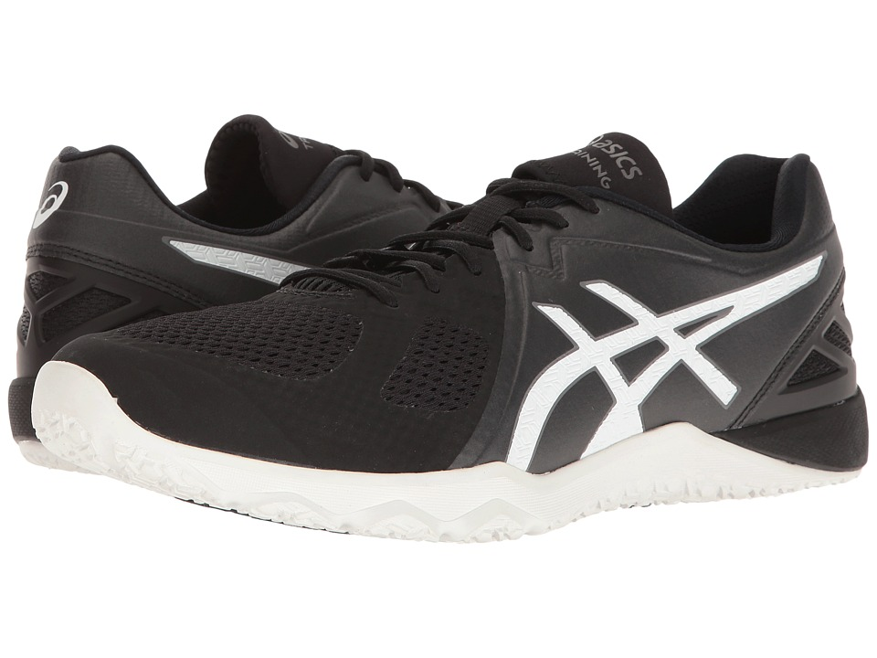 Asics Conviction X (Black/White/White) Men's Cross Traini...