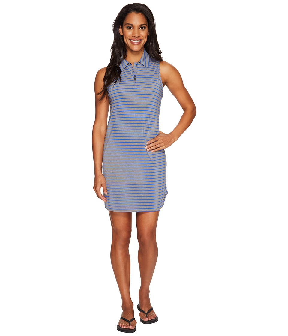 Lole Adisa Dress (Dazzling Blue Stripe) Women