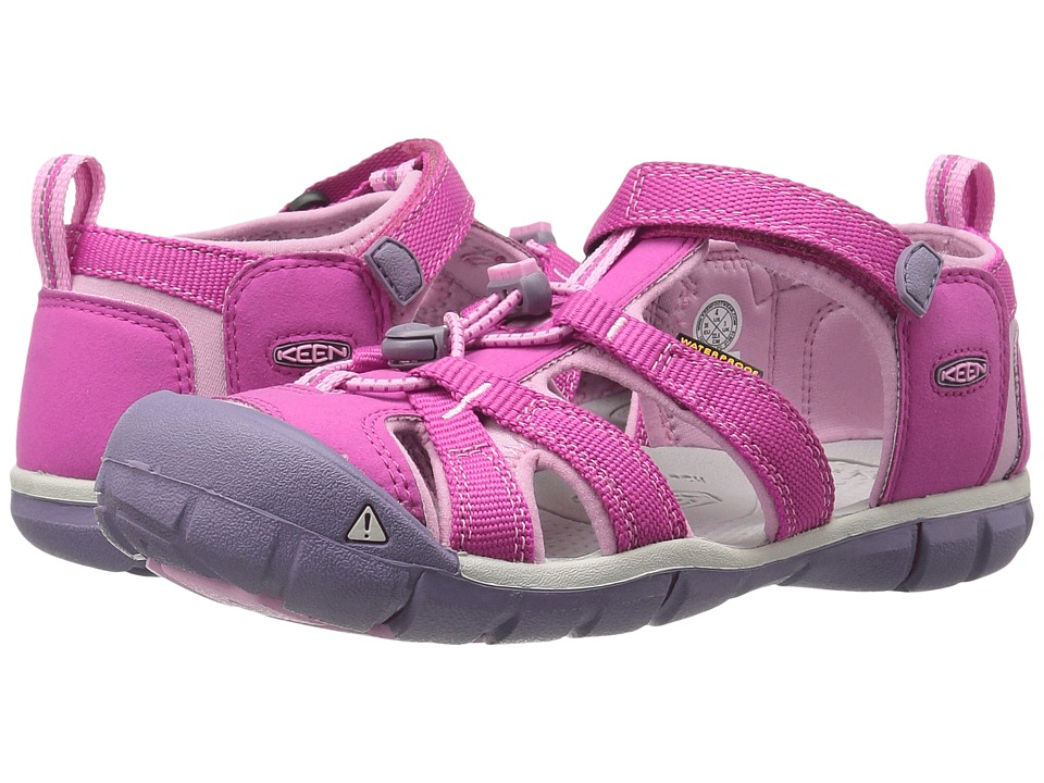 Keen Kids Seacamp II CNX (Little Kid/Big Kid) (Very Berry/Lilac Chiffon) Girls Shoes