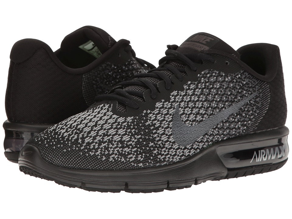 Nike Air Max Sequent 2 (Black/Metallic Hematite/Dark Grey...