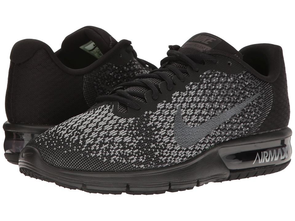 Nike Air Max Sequent 2 (Black/Metallic Hematite/Dark Grey/Wolf Grey) Men