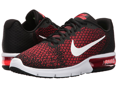 Nike Air Max Sequent 2 - Black/White/Team Red/University Red